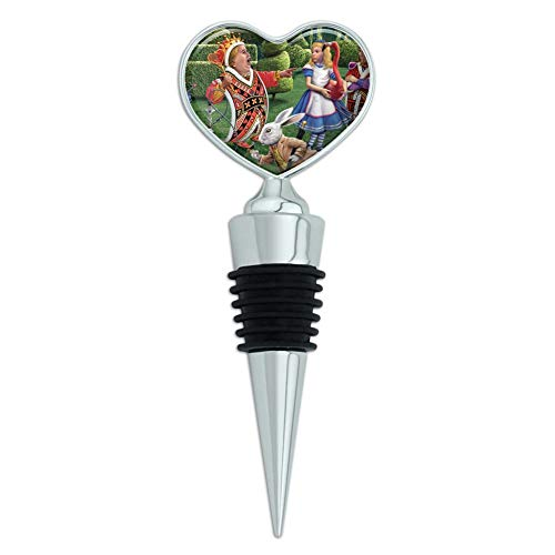 wine stopper alice in wonderland - 5