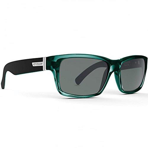 Von Zipper Fulton Sunglasses Green Black Crystal ~ - Green Zipper Sunglasses Von