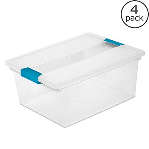 4 packs 14x11x6.25 Clip Box