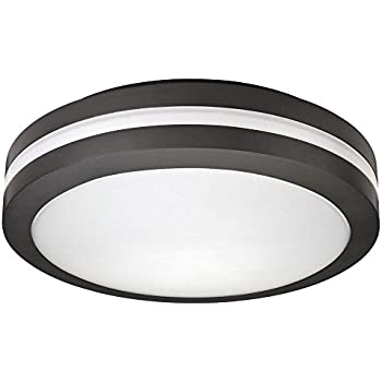 amazon com lithonia lighting olcfm 15 ddb m4 led outdoor ceiling