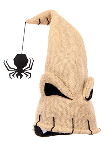 Disney Nightmare Before Christmas Oogie Boogie Santa Plush Hat -