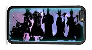 Trendy Accessories Villains United Silhouette Print Black Silicone Case for iPhone 6 (4.7)