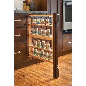 Base Cabinet Fillers With Blum Soft Close Slides, 3u0026quot;, 6u0026quot;, 9u0026quot