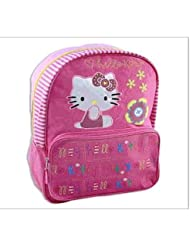 Sanrio Hello Kitty Backpack - Full Size Hello Kitty School Backpack - Book Bag