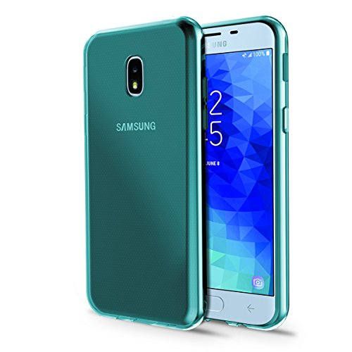 Samsung Galaxy J3 Achieve/J3V J3 V 3rd Gen/J3 2018/Express Prime 3/Amp Prime 3 2018/Sol 3 Phone Case, OEAGO [Ultra Slim Thin] Soft Feel Flexible and Easy Grip Gel TPU Rubber Skin Case Cover, Mint