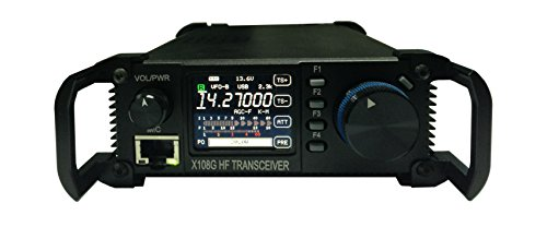 Xiegu X-108G QRP Transceiver Outdoor Version 9 Bands AM/SSB/CW 1-20 watts Black by Xiegu (Image #4)
