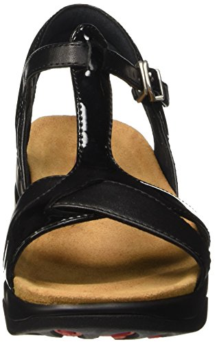 Mujer 6 Mbt De Tobillo Con Para Sandal Sandalias black Negro W Correa Raziya 4wxgF