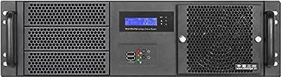 "PLINKUSA RACKBUY 3U(Fan LCD)(3x5.25""+7x3.5"" HD)(ATX/Micro-ATX/Mini ITX)(14.96"" Deep)Rackmount Chassis(NO Power Supply,No Rail,No System and Case Only)IPC-G3370S"