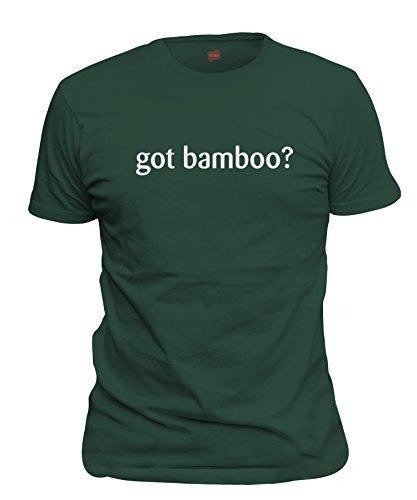 (shirtloco Men's Got Bamboo T-Shirt, Forest Green 2XL)