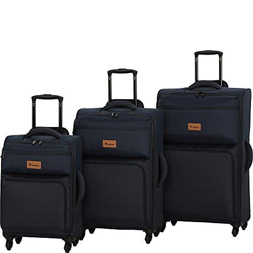it luggage DuoTone 4 Wheel 3 Piece Set, Dress Blue/Sky Captain