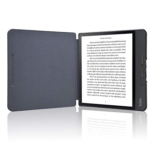 Kobo Forma Case, ACdream The Thinnest and Lightest Leather Smart Cover Case for New Kobo Forma Ereader with Auto Wake Sleep Feature, Sky Blue