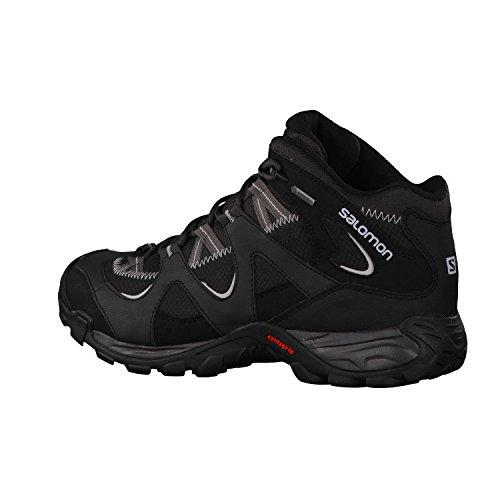 Salomon Sector mid gtx zapatos hombre gris 2016 asphalt/black/gy