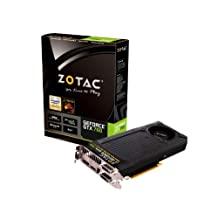 ZOTAC ZOTAC NVIDIA GeForce GTX 760 4GB GDDR5 2DVIHDMIDisplayPort PCI-Express Video Card / ZT-70406-10P /