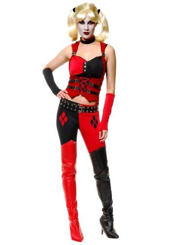 [Sexy Harlequin Joker Costume Large] (Harlequin And Joker Costumes)