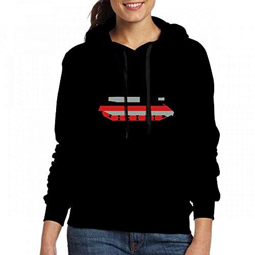 Womens T-shirts Personnalisés Sweat Réservoir Sweatshirt À Capuche Sweat Noir 3col