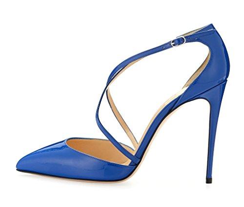 Bleu Bleu Coupe Fermées Kolnoo Femme Femme Coupe Fermées Kolnoo Kolnoo SqPx4wBU