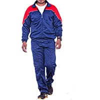 Royal Blue Sports Regular fit Unisex Polyester Super Poly Tracksuit