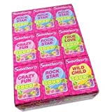 SweetHearts Candies Sour Tiny Hearts .9oz 36Count
