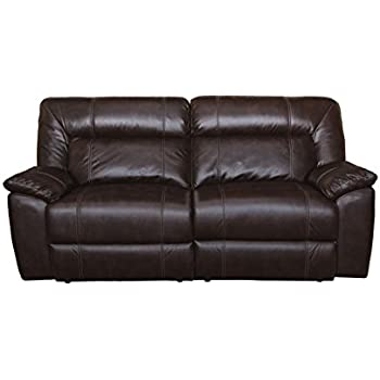 New Classic 20 398 30 BRW Thorton Dual Recliner Sofa, Durham Brown