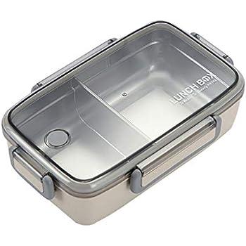 Amazon.com: Ecurson - Fiambrera (cuadrada) con tapa, caja de ...