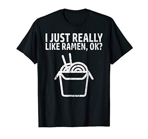 I Like Ramen Tshirt Kawaii Japanese Noodle Food Anime Gift