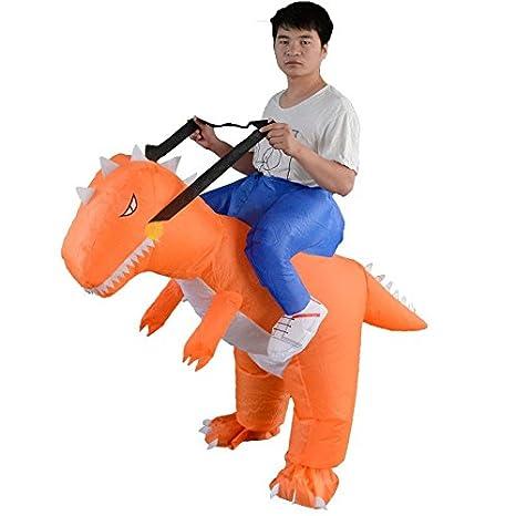 YOWESHOP T-Rex Disfraz Hinchable de Dinosaurio para Adultos ...