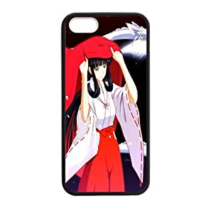 Custom Inuyasha New Laser Technology Back Cover Case for iPhone 5 5S CLT595