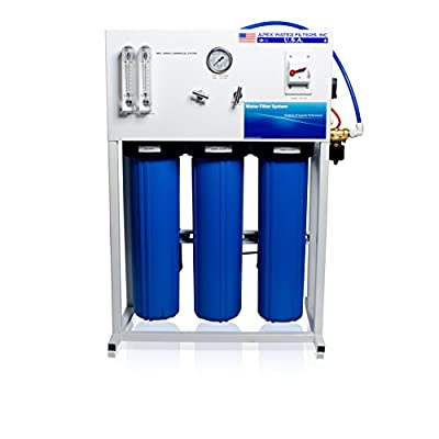 Apex Commercial Reverse Osmosis System for Drinking Water & Hydroponic Treatment
