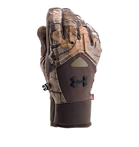 Under Armour Men's Scent Control Primer 2.0 Gloves, Realtree Ap-Xtra (946)/Black, Large