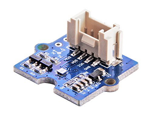 3-Axis Digital Compass V2,measurement of the magnatic field in three perpendicular axes and the output can be read out over I2C and SPI interface, perfectly suitable for 3-Axis mobile applications ()