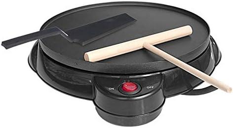 Opinión sobre Zcm Crepera Eléctrico 220V Antiadherente eléctrico Crepe Pizza Maker máquina de Crepes máquina de Crepes Haciendo Herramienta de la Cocina Pan for el hogar cocinar la Cacerola