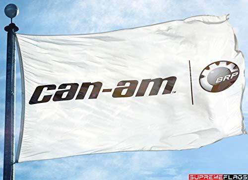 CAN-AM Flag Banner 3x5 ft BRP Bombardier Defender Maverick Commander US Seller