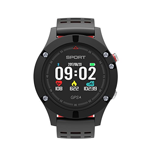 DTNO.I Smart Watch IP67 Waterproof GPS Smart Watch Sports Smart Watch Wearable Devices Multifunction Bracelet Compatible with Android iOS