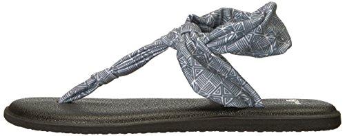 Tile Sling Flop Flip Ella Women's Sanuk Grey Yoga Tiki TEB8pq