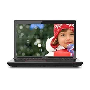Toshiba Qosmio X875-Q7380 17.3-Inch Laptop (Black Widow Styling in Diamond-Textured Aluminum)