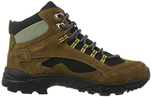 de adulte Rock Chimney Gelb mixte Hautes Randonnée Lico Marron Schwarz Bruetting Braun Chaussures fqIx8a8