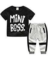 Baby Boy 2 Piece Short Sleeved Gentleman...