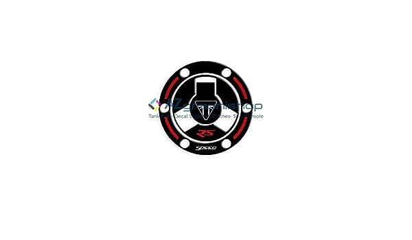 PROTECCI/ÓN DE Tapa DE Combustible Resina 3D Triumph Speed Triple 1050 RS 2018-2020 GP-668 Black