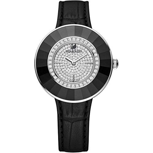 Swarovski Reloj analogico para Mujer de Cuarzo con Correa en Piel 5080506: Amazon.es: Relojes