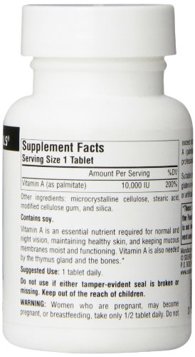 Source Naturals Vitamin A Palmitate 10,000IU, 100 Tablets