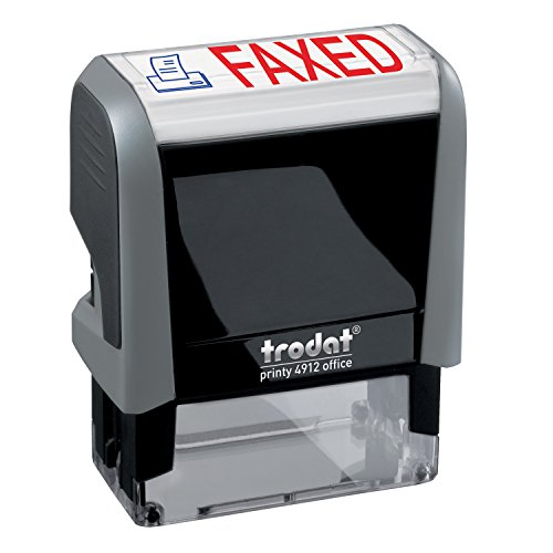 - FAXED Trodat Printy 4912 Self-Inking Two Color Stock Message Stamp