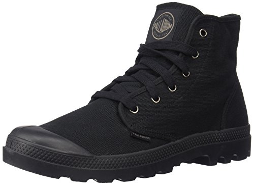 Palladium Men's Pampa Hi Canvas Boot,Black,11.5 M US (Clearance Mens Skate Shoes)