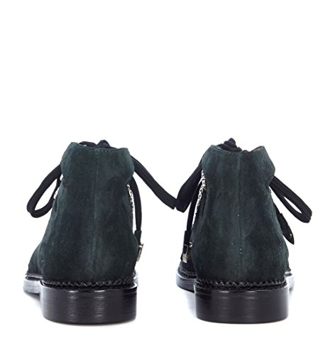 Leather Toga Green Pulla Sandal Green Suede Women's Studs with rOwT7xOI