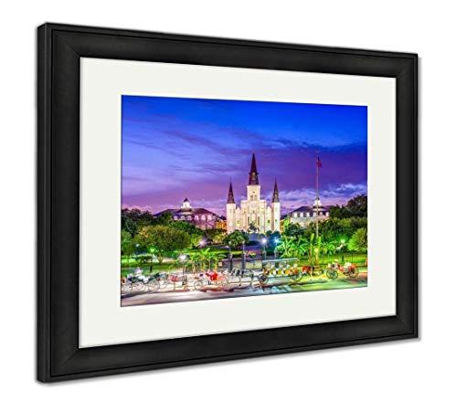 - Ashley Framed Prints New Orleans, Louisiana, USA, Wall Art Home Decoration, Color, 30x35 (Frame Size), Black Frame, AG32474132