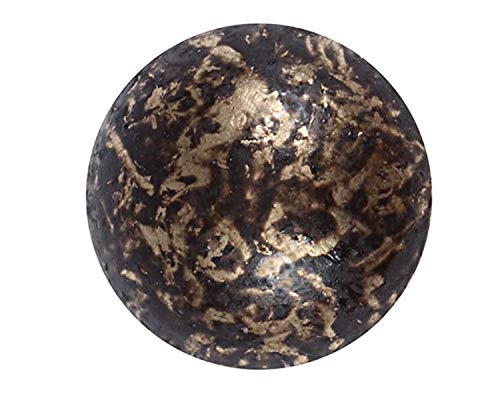 """100 Qty: C.S.Osborne & Co. No. 6871-OGSD 5/8 - Old Gold Speckled Dark/Post :5/8"""" Head: 5/8"""" (mpn# 13772)"""