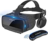 Z5 3D VR Glasses 2019 Virtual Reality Helmet Google Cardboard VR Box with Headset Stereo for 4.7-6.2 +Bluetooth Controller
