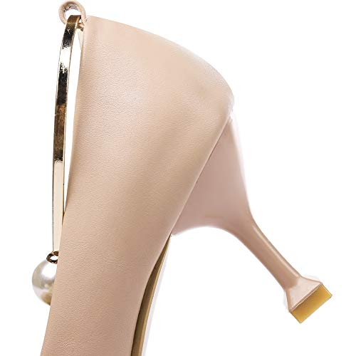 APL10660 Charms Shoes Pink Solid Womens Pumps Baguette BalaMasa Urethane Style aFCBnqwx8