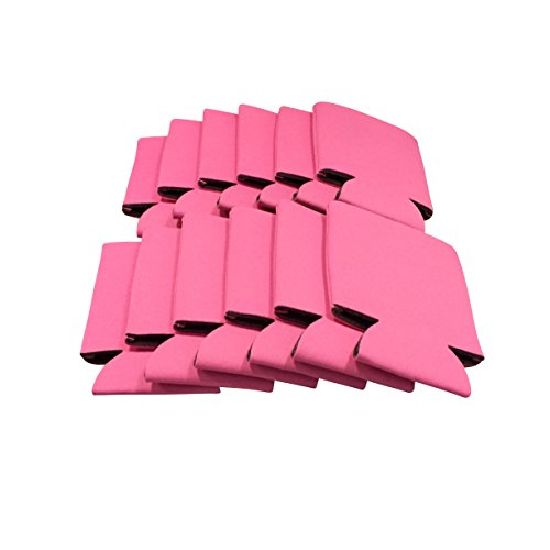 CSBD Can Insulator Coolers for Beer and Soda Bulk Pack (Breast Cancer Awareness) (25, (Personalized Water Bottles No Minimum)