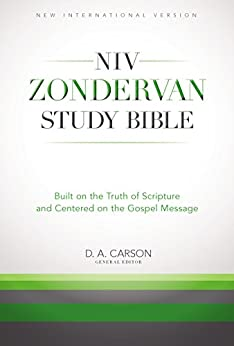 The NIV Zondervan Study Bible, eBook: Built on the Truth of Scripture and Centered on the Gospel Message by [Zondervan]
