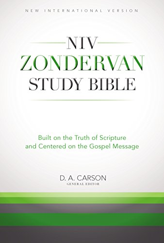 The NIV Zondervan Study Bible, eBook: Built on the Truth of Scripture and Centered on the Gospel Message cover